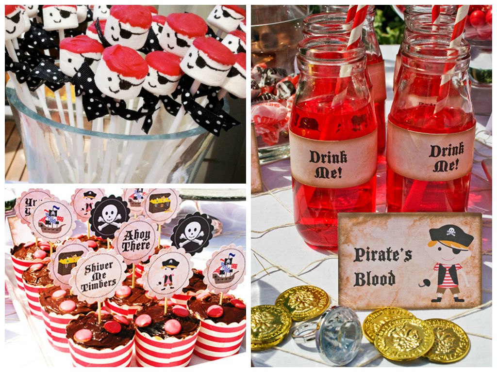 Aarrrgghh - Yummy pirate-inspired party food
