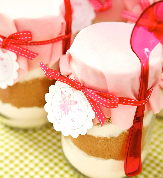Fairy Cookies in a Jar
