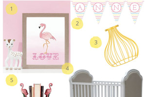 Flamingo Themed Nursery Ideas