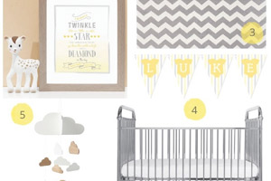 Yellow Gender-Neutral Nursery Ideas