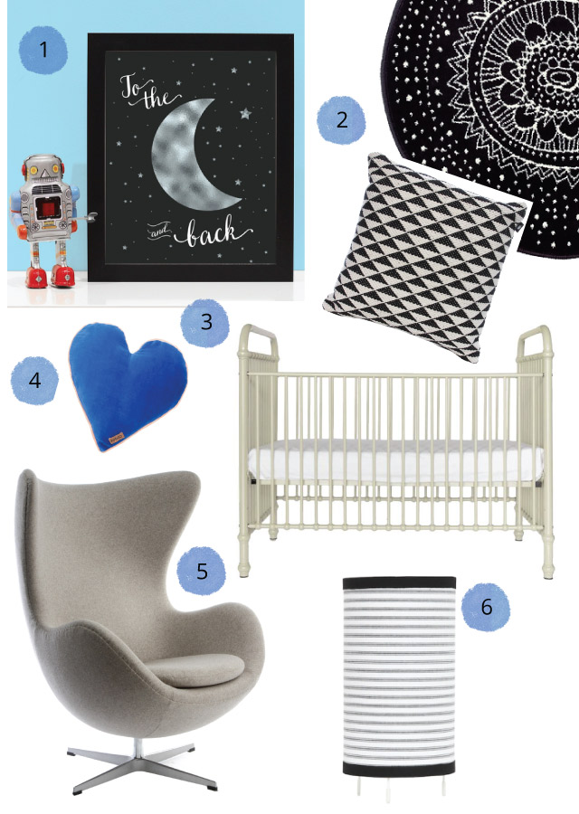 Nursery Ideas To The Moon And Back