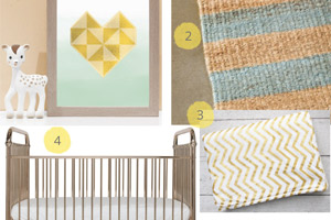 Gender-Neutral Nursery Inspiration