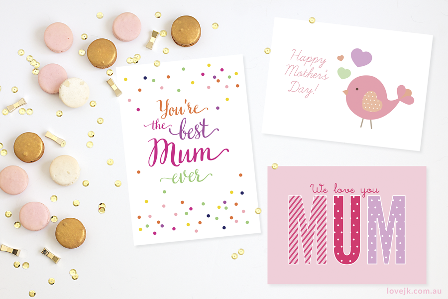 Free Printable Mothers Day Card Designs