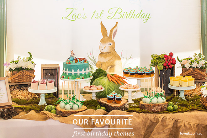 Our Favourite First Birthday Party Themes