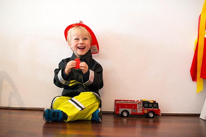 Fireman Party via Love JK