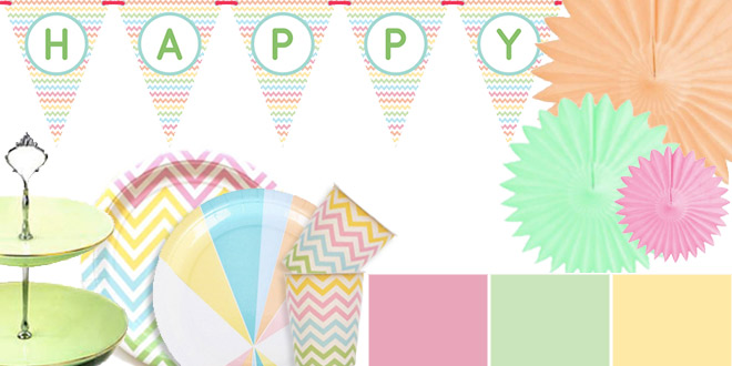 First Birthday Pastel Decoration Ideas