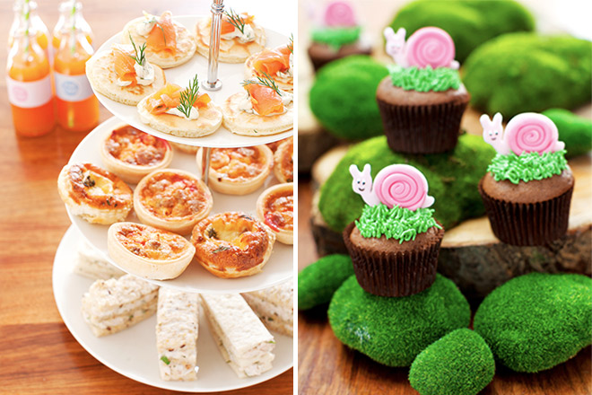 First BIrthday Party Ideas - Food ideas for adults at the party