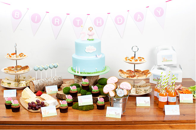 First birthday ideas from venues and decorations to party food and lunch box ideas