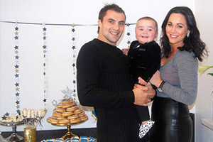 The Young Mummy throws a bling-tastic party for Bobby's first birthday