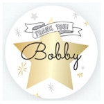 Twinkle Twinkle Little Star Thank You Sticker$0.49 each