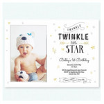Twinkle Twinkle Little Star Photo Invitation$2.49 each