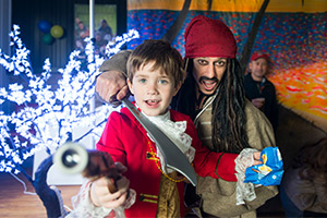 A Pirate Party with Captain Jack Sparrow!