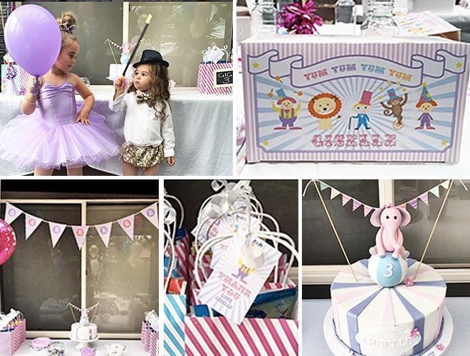 Daughter of Kids Fashion Blogger celebrates her third birthday