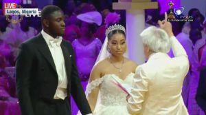 Man of God, Pastor Chris Gives out Daughter in Marriage