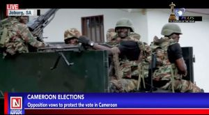 Opposition Vows to Stop Incumbent President from Winning Polls in Cameroon