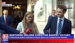Supreme Court Ruled in Favour of Irish Baker's Refusal to Bake Pro-Gay Slogan Cake