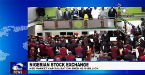 Nigerian Stock Exchange Market Capitalization Shed 219 Billion