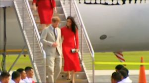 Prince Harry and Meghan Received in Tonga By Princess Angelika