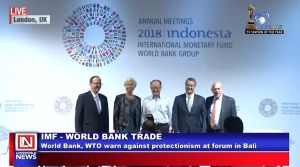 World Bank, IMF Calls for De-Escalation of Trade Disputes