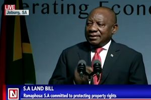 South African President Gives Reassurance of Property Rights to Investors