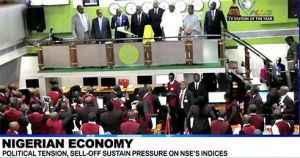 ALL-SHARE INDEX AND MARKET CAPITALISATION OF THE NIGERIA STOCK EXCHANGE (NSE) TUMBLED FOR 10 CONSECUTIVE TIMES