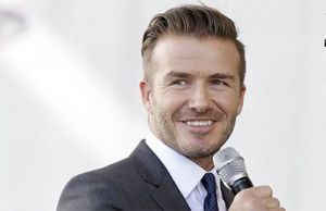 Former Real Madrid Star David Beckham To Receive UEFA President's Award