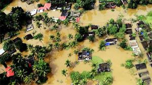22,000 RESCUED FROM THE FLOOD-HIT INDIAN STATE OF KERALA