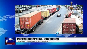 Oil Majors, Tanker Owners Defy Presidential Orders