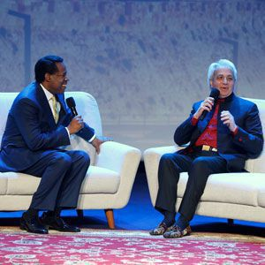 Pastor Chris and Pastor Benny Hinn discuss recent events in Israel