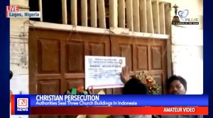 Authorities in Indonesia Shut Down Three Churches