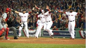 Boston Red Sox Wins 2018 Baseball Series