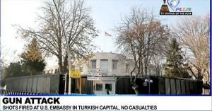 ATTACKS SPRING UP IN U.S EMBASSY AT TURKISH CAPITAL