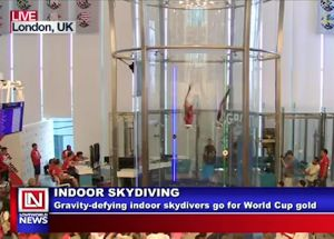 Indoor Skydivers go for World Cup Gold