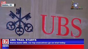 Swiss Bank UBS, Six Top Executives Go on Trial