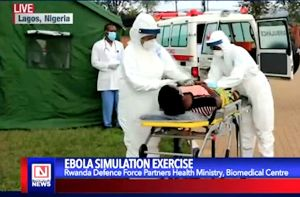 Rwanda Embark on Ebola Simulation Exercise