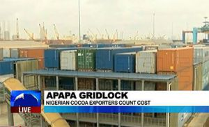 Nigerian Exporters Cry Out Over the Gridlock at APAPA Ports