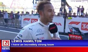 Lewis Hamilton Closing in on World Title