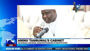 More Special Advisers and Special Assistants Resign from Sokoto State Governments Cabinet