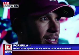 Lewis Hamilton Grabs A Remarkable fifth F1 Title