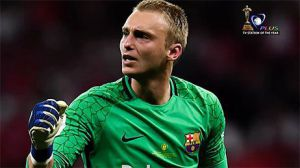 Barca Keeper Cillessen Suffers Rib Sprain