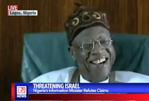 Nigeria's Minister of Information Debunks Claims of Threatening Israel