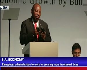 More Investment Deals To Boost S.A Economy
