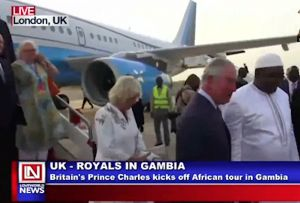 Prince Charles of Wales Begins His Nine Day African Tour