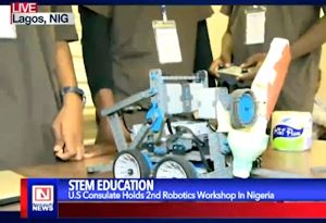 US Based RoboRave Trains Nigerian Students on STEM Education