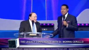 Historic Meeting of God's Generals as Rev. (Dr.) Chris Oyakhilome Hosts Dr. Morris Cerullo During 'Legacy Conference'