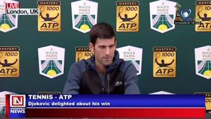 Djokovic Delighted but Not Ready to Celebrate Yet