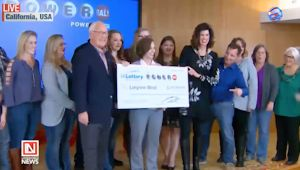 Woman wins Iowa Powerball Jackpot