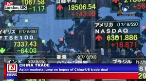 Markets Go Higher on Hopes of US-China Trade Deal