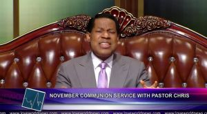 November Global Communion Service With Pastor Chris Oyakhilome D.Sc; DD