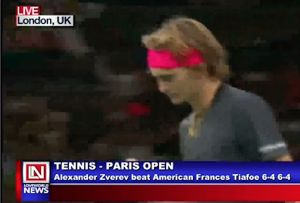 Tennis: Alexander Makes It Through to the Last Sixteen